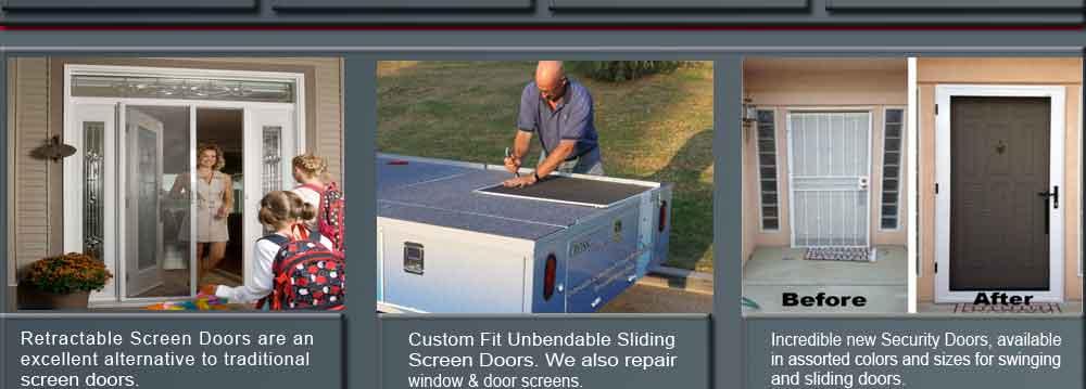 Screens Santa Maria / 805 821 1993 / Mobile Screen Service / The Screen Guy  Santa Maria / Security Screen Doors Santa Maria